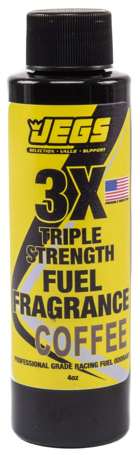 JEGS 63646 Fuel Fragrance Coffee Scented 4 oz. Bottle Safe for All Internal Comb