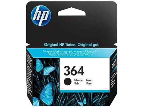 HP Original CB316EE / 364, für PhotoSmart Wireless e-All-in-One B 110 f Premium Drucker-Patrone, Schwarz, 250 Seiten, 6 ml