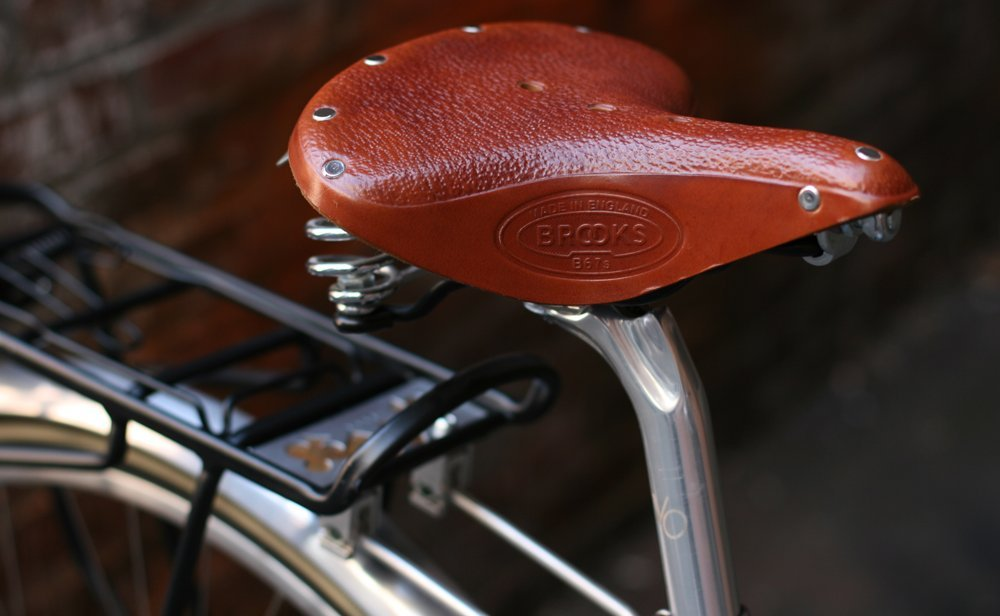 Chrome Springs Black Brooks Saddles B67 S Bicycle Saddle B427DSA07202 Womens