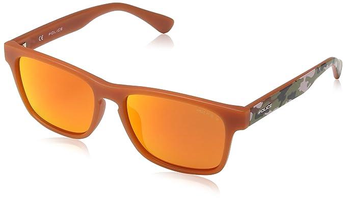 Police - Gafas de sol Wayfarer SK034 Clark para niños, SEMI ...