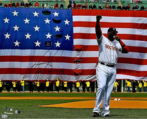 David Ortiz Boston Red Sox Autographed 16