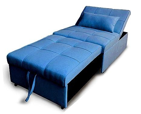 Takestop divano divanetto letto con cuscino poltrona reclinabile