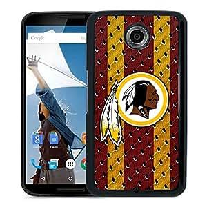Washington Redskins 03 Black Google Nexus 6 Screen Phone Case Unique and Fashion Design