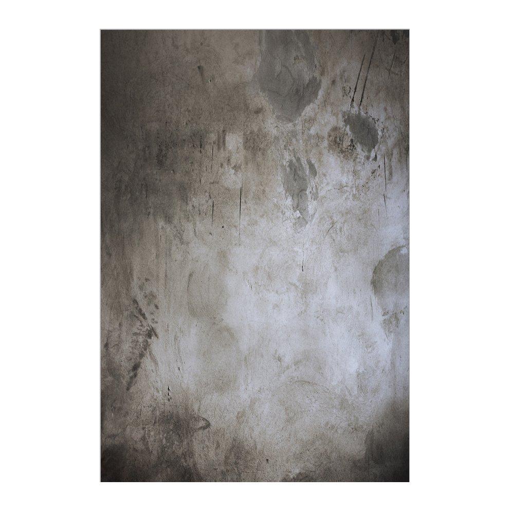 Muzi 150/x 220/cm Brick Wall fondali fotografia sfondo vecchio muro di cemento nero cemento olio da parete fondale per neonati bambini studio fotografico puntelli xt-3913