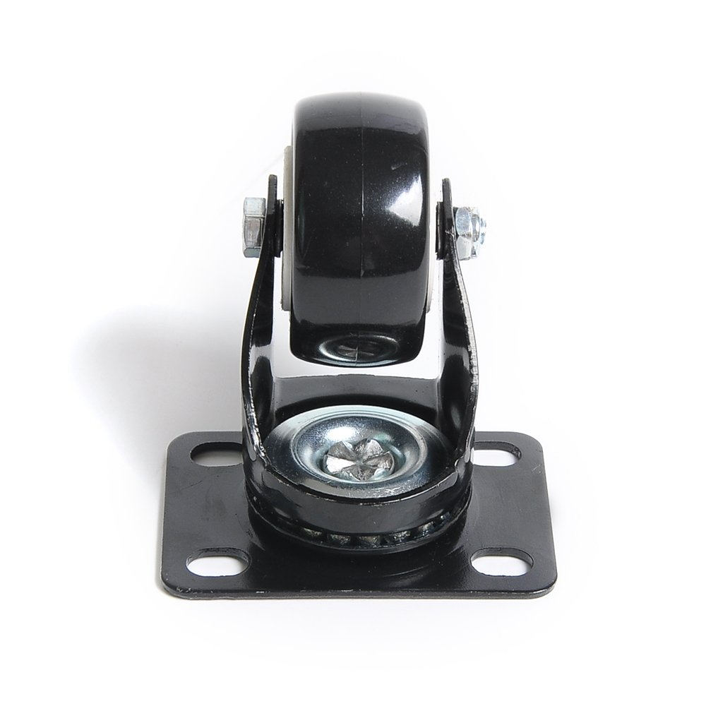 2 sin freno para muebles silla mesa carro carro Rueda Giratoria Industrial 50mm Ruedas Pivotantes 2 con freno