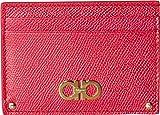 Salvatore Ferragamo Women's Gancini Card Case, Begonia, One Size