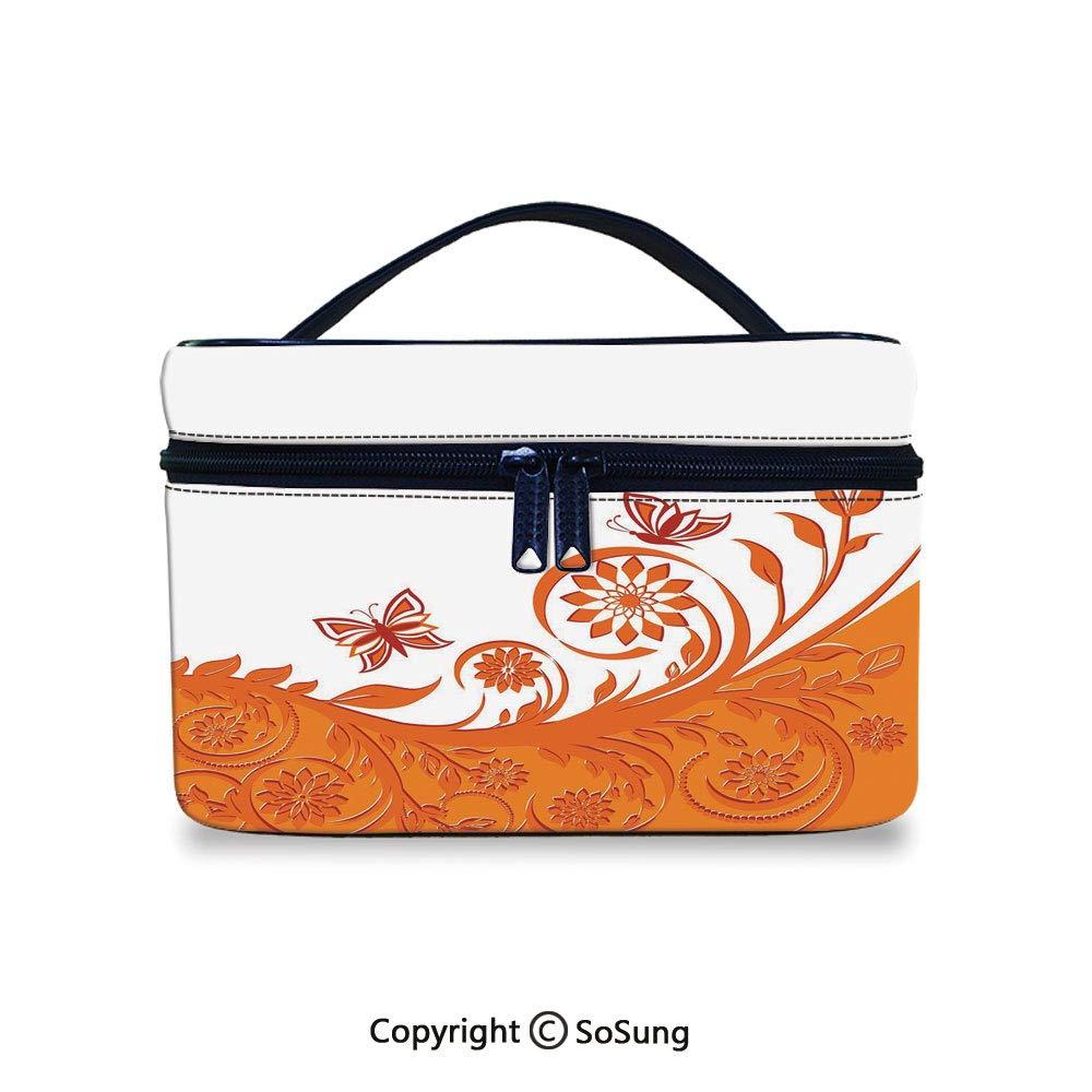 1e78f8b470ee Amazon.com : Circus Decor Cute Cosmetic Bag Illustration of a Lion ...