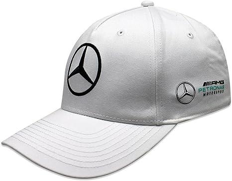 Mercedes AMG F1 Team Puma Baseball Gorra Blanco Oficial 2018 ...