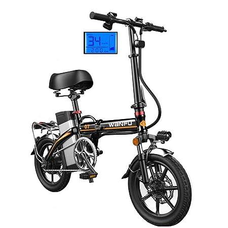 Bicicletas eléctricas Ruedas de 14 pulgadas Marco de ...