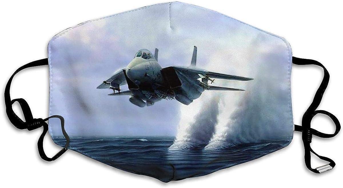 Jingliwang Mundschutz Verstellbare Gesichtsabdeckung Staubdicht M/_as /& kss Unisex-Kampfflugzeuge in Aktion Polyester-Staubschutz gewaschen Wiederverwendbar f/ür das Radfahren im Freien