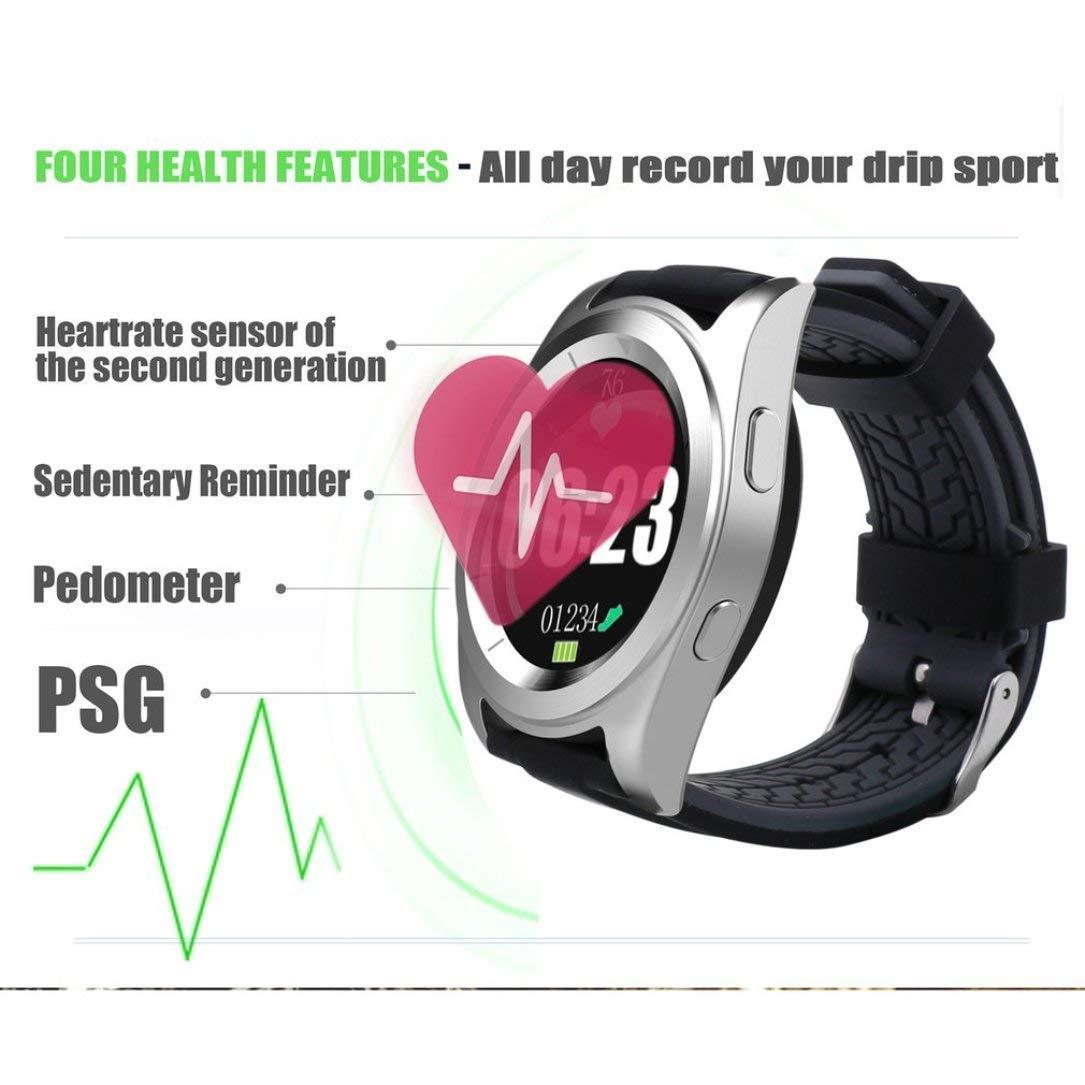 Amazon.com: NO.1 G6 Smart Watch Silica Gel Strap MTK2502 ...