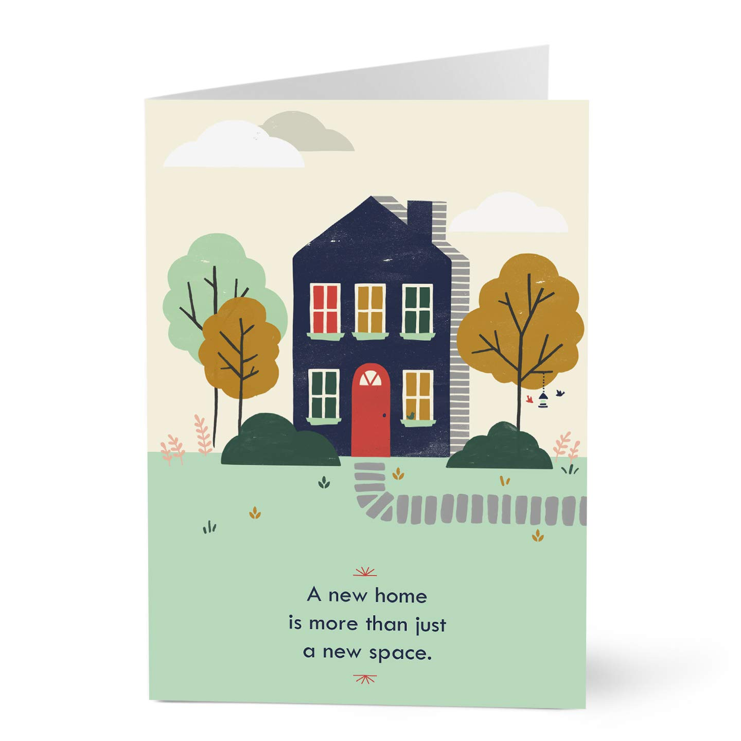 Hallmark Business New Home Card for Employees and Customers (Home Warming) (Pack of 25 Greeting Cards)