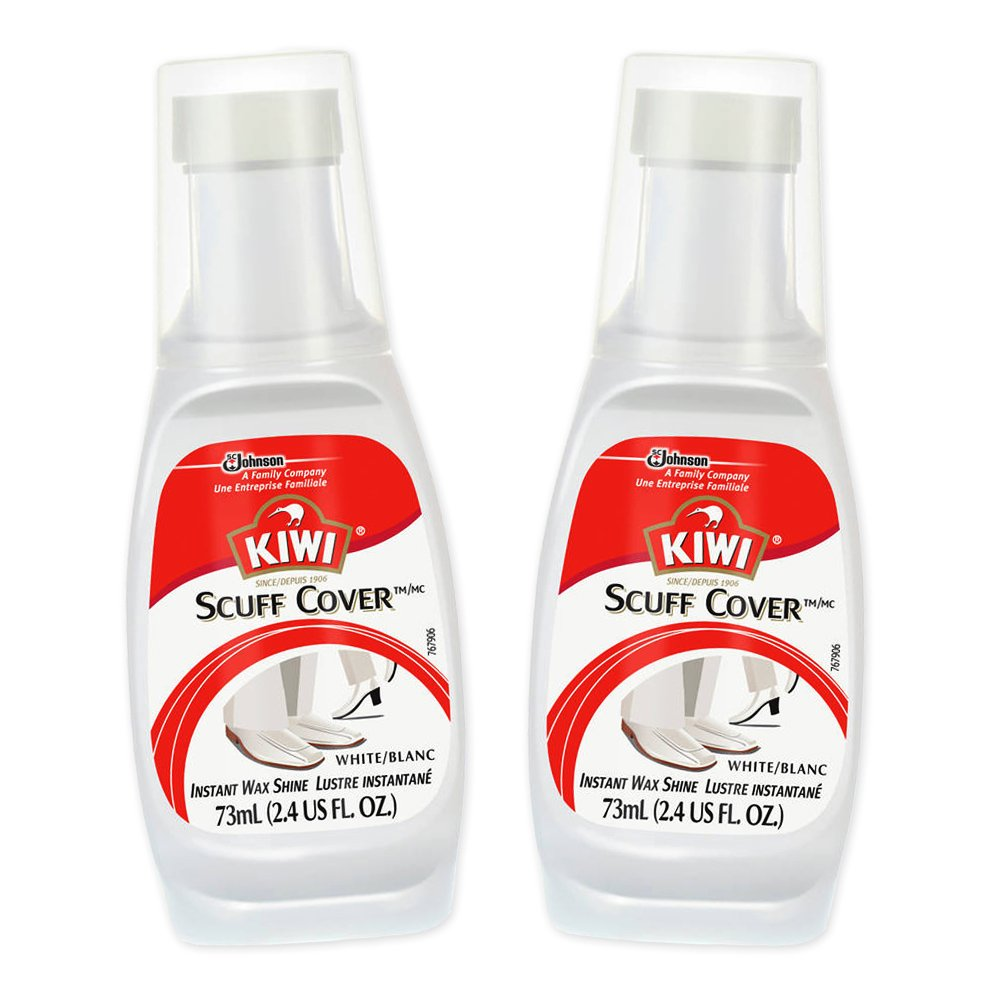 e734471c6cc64 Buy Kiwi 11635 2.4 Oz White Scuff CoverTM, Pack of 2 Online at Low ...