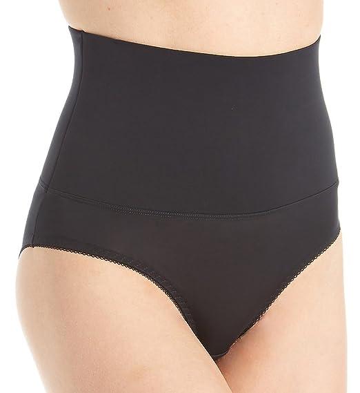 c41a9e6022bc3 Heavenly Shapewear Women s Mid Waist Tummy Control Brief at Amazon Women s  Clothing store