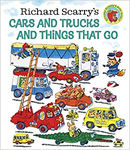 amazon richard scarry s cars and trucks and things that go