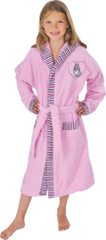 51c177ecb9fe4 Mauz Peignoir - filles - 'Cheval' - rosé - tissu-éponge, Rose, 12 ans:  Amazon.fr: Vêtements et accessoires