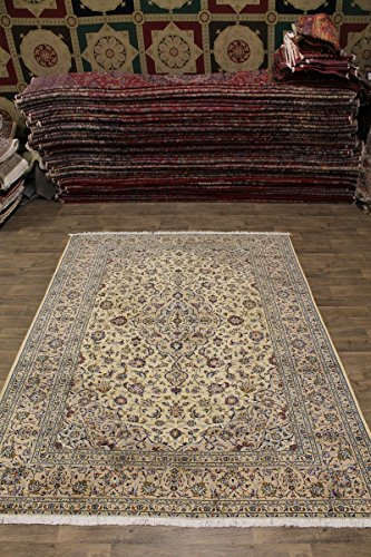 - Traditional S Antique Handmade Light Kashan Persian Style Area Rug Oriental Carpet 8X11