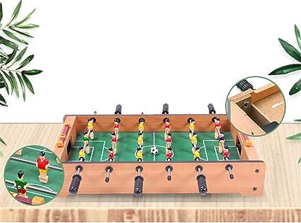 WXH Divertidos Juegos y Accesorios portátiles de futbolín, futbolín, futbolín, Juegos recreativos de competición de Manos, Juegos Deportivos: Amazon.es: Hogar