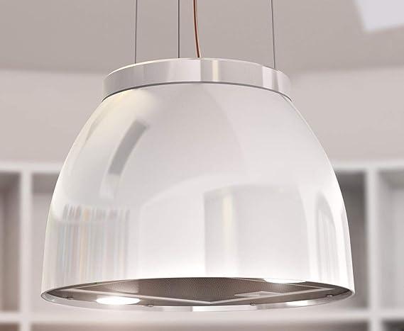 Haeusler-Shop 553495 Luna - Campana extractora (45 cm de diámetro), color blanco brillante: Amazon.es: Grandes electrodomésticos