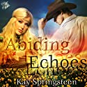 Abiding Echoes Audiobook by Kay Springsteen Narrated by Staci Anderson