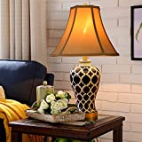 """Tootoo Star Antique Octagonal Royal Bell Lamp Shade for Floor Lampshade and Table Lamp,(6.3x6.3) x(13x13) x10.8"""",Antique Gold"""