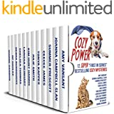 "Cozy Power!: 12 SUPER ""First-in-Series"" Cozy Mysteries (full books!)"