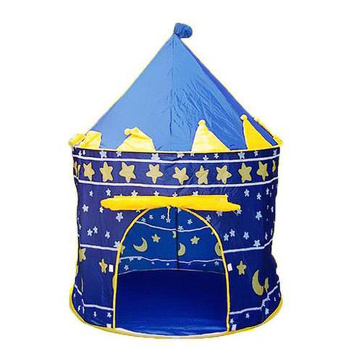el mas de moda Reducción de precio LIAN Tienda de de de Juegos para Niños Portable Plegable Kids Blue Castle Indoor and Outdoor Cubby Play House (41.33 x 41.33 x 53.15 Pulgadas Embalaje de 1)  tienda hace compras y ventas