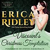 The Viscount's Christmas Temptation: Dukes of War, Book 1 | Erica Ridley