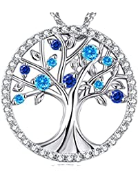 December Birthstone Jewelry ❤️The Tree of Life❤️ Sterling...