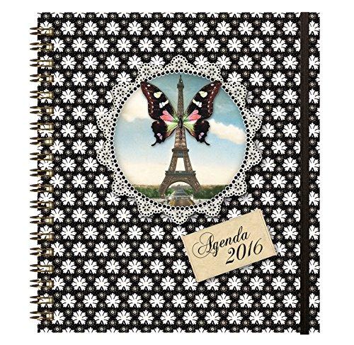 'Agenda 18 W  Les Cakes de Bertrand – Schmetterling – Wochenkalender – 2016 B0158T43Z0     | Diversified In Packaging