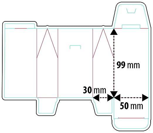 My Custom Style Cajas Mixtas # Navidad - Textura 2 # Cartón 300 G: Amazon.es: Hogar