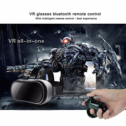 ACGAM R1 Bluetooth 4.0 Wireless Gamepad VR Remote Mini Game Controller Joystick for iOS Android by ACGAM (Image #1)