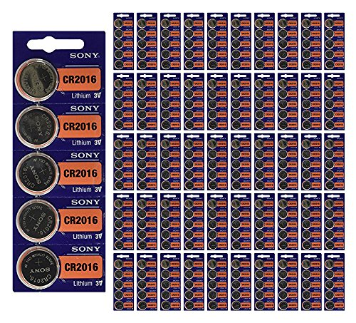 5000x Sony CR2016 Batteries 3v Lithium Coin Battery Bulk Wholesale Lot FRESH by 21Supply
