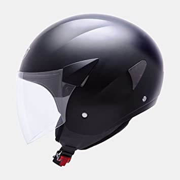 MT HELMETS CASCO TIPO JET MT CITY SPORT (L, NEGRO MATE)