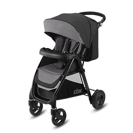 Cbx Misu Air - Silla de paseo, ruedas hinchables, incluye cubierta para lluvia, desde el nacimiento hasta los 15 kg, Comfy Grey
