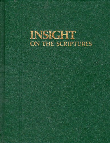INSIGHT ON THE SCRIPTURES Volume 1 and 2 (Complete Set)