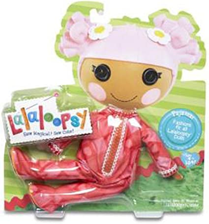 NEW Lalaloopsy Doll Clothes Outfit Christmas Holiday Party Dress Red White Fur