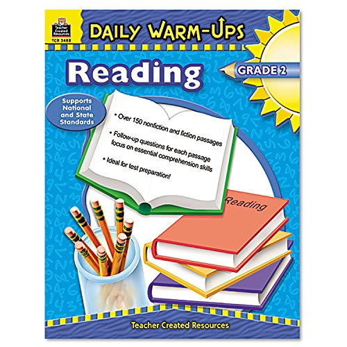Teacher Created Resources 3488 Daily Warm-Ups Book, Reading, Grade -