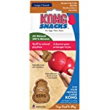 KONG - Snacks - All Natural Dog Treats - Peanut Butter Biscuits - Large (Best Used with KONG Classic Rubber Toys)