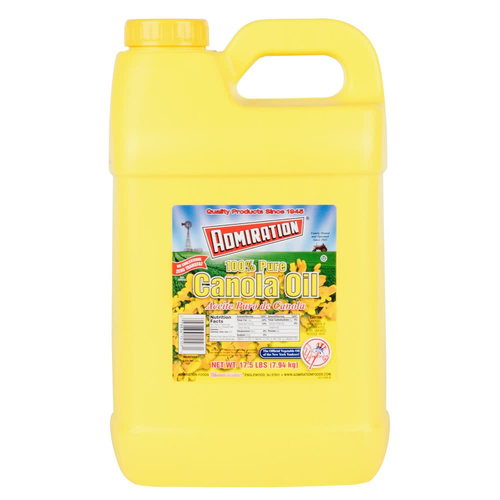 TableTop King Admiration 17.5 lb. Canola Oil - 2/Case by TableTop King