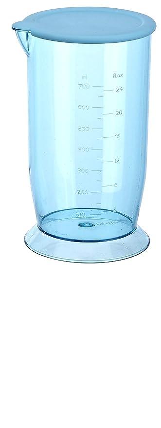 Vetronix VHBB-02 Hand Blender with Beaker Cup and Lid (Orange)