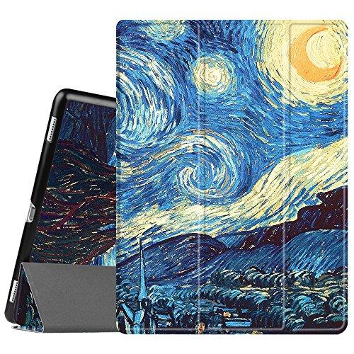 Fintie iPad Pro 12.9 Case - [SlimShell] Ultra Lightweight Standing Protective Cover w/Auto Wake/Sleep Feature for Apple iPad Pro 12.9 (1st Gen 2015) / iPad Pro 12.9 (2nd Gen 2017), Starry Night
