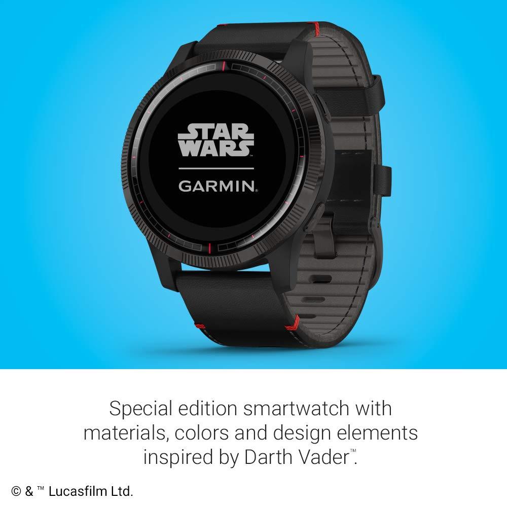 Garmin Legacy Saga Series, Star Wars Darth Vader Inspired Premium ...