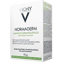 Vichy Normaderm Barra limpiadora facial 70g