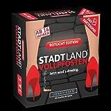 DENKRIESEN - STADT LAND VOLLPFOSTEN - Das Kartenspiel - Rotlicht Edition: Jetzt wird's dreckig. Kartenspiel mit 120…