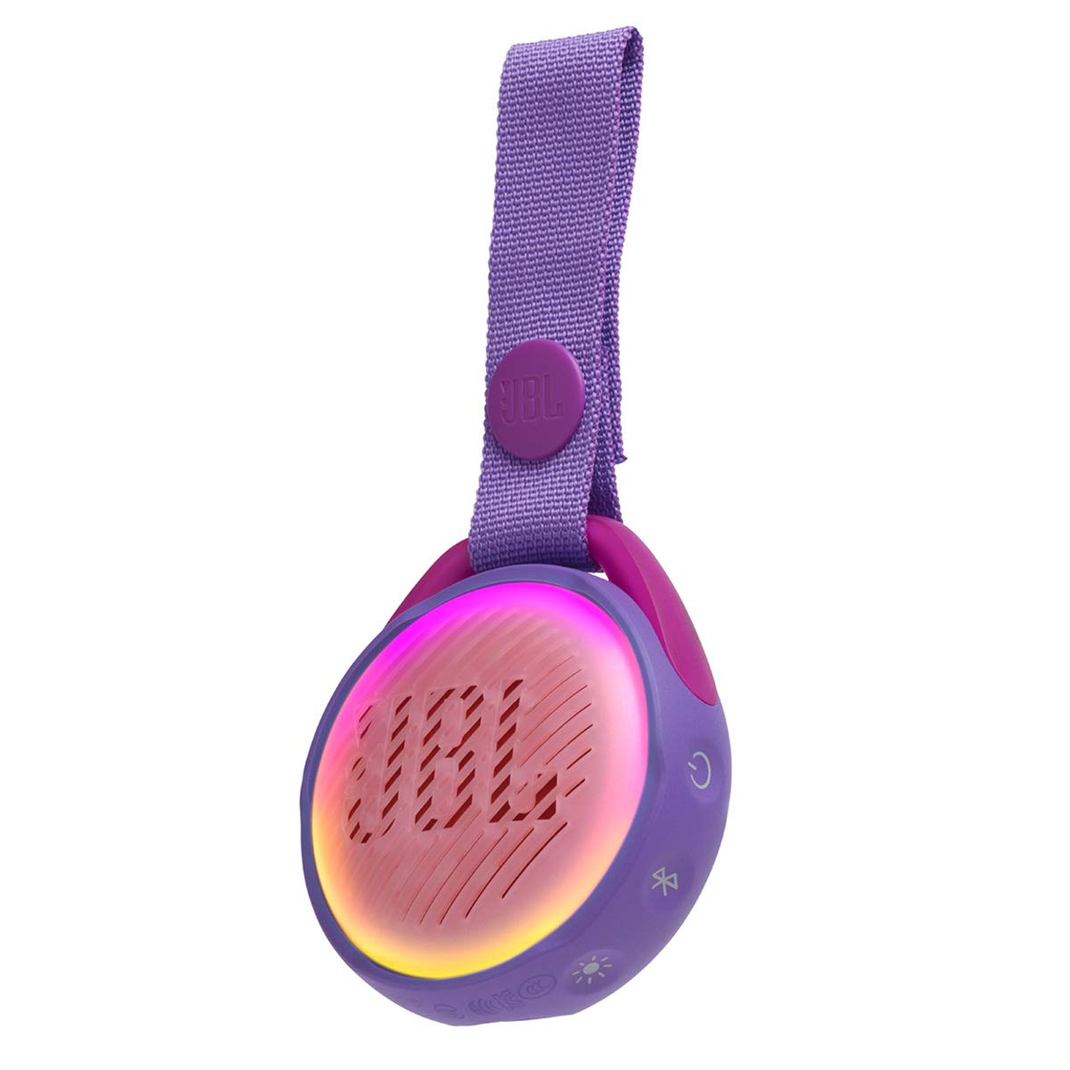 JBL JR POP - Waterproof portable Bluetooths Speaker Designed for Kids - Purple