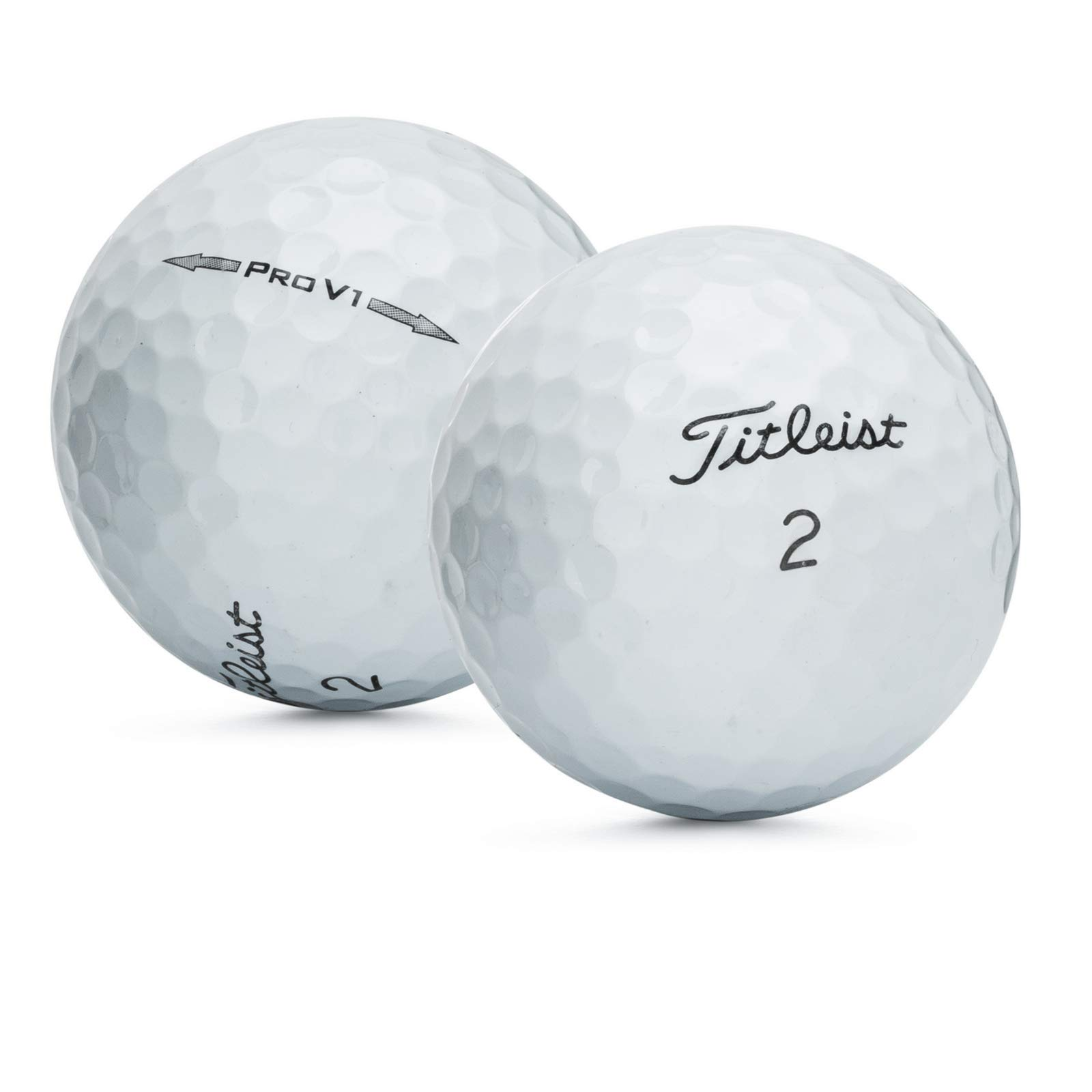 Titleist 50 Mint Recycled Used Golf Balls AAAAA by Titleist