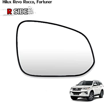 1 LH Rear View Mirror Glass Lens For Len Toyota Fortuner 2012 2013 2014