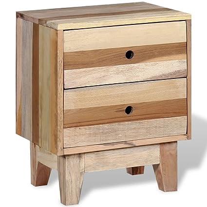 Bedside Cabinet Solid Reclaimed Wood Corner Cabinet Bedside Cabinet  Dimensions: 11.8u0026quot; X 15.7u0026quot;