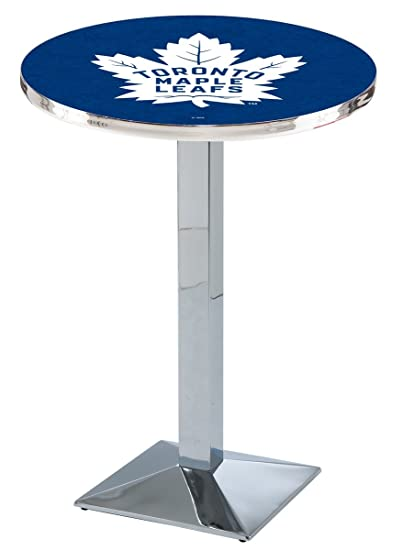 Amazon toronto maple leafs pub table kitchen dining toronto maple leafs pub table watchthetrailerfo